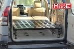 Nowy produkt: rozkładana platforma sypialna do Toyoty Land Cruiser J120