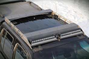 Nowy model bagażnika dachowego - bagażnik skrzynkowy MorE 4x4