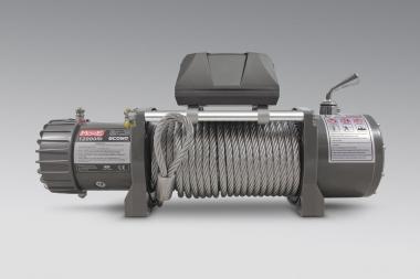Wyciągarka MORE 4X4 ECONO 12000lbs 24V, lina stalowa