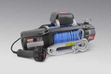 Wyciągarka MorE 4x4 X-PRO 13000lbs 12V, lina syntetyczna