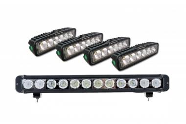 Pełny zestaw oświetlenia do bagażnika More 4x4