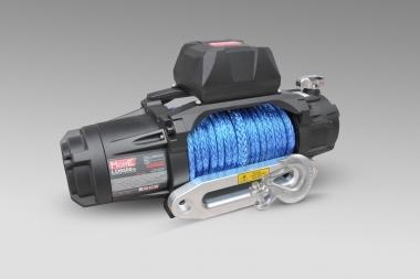 Wyciągarka MorE 4x4 SPEED 9500lbs 12V, lina syntetyczna