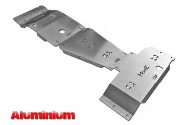 Zestaw aluminiowych osłon podwozia MorE 4x4 - Toyota Land Cruiser J120