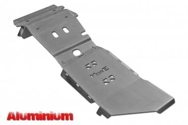 Zestaw aluminiowych osłon podwozia MorE 4x4 - Toyota Hilux Vigo 05-15 manual