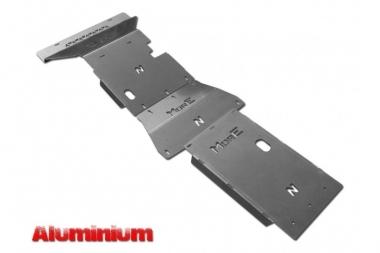 Zestaw aluminiowych osłon podwozia MorE 4x4 - Nissan Navara D23 / NP300 14+