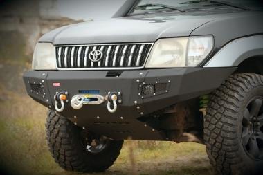 Zderzak przedni stalowy Toyota Land Cruiser J90 / 95 More 4x4