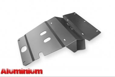 Aluminiowa osłona przednia/drążków - Toyota Hilux Vigo 2011-2015 do zderzaka Z014