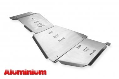 Zestaw aluminiowych osłon podwozia MorE 4x4 - Toyota Land Cruiser J200