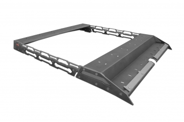 Bagażnik dachowy Nissan Navara D40, skrzynkowy - More 4x4