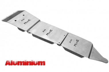 Zestaw aluminiowych osłon podwozia MorE 4x4 - Nissan Navara D40 / Pathfinder R51